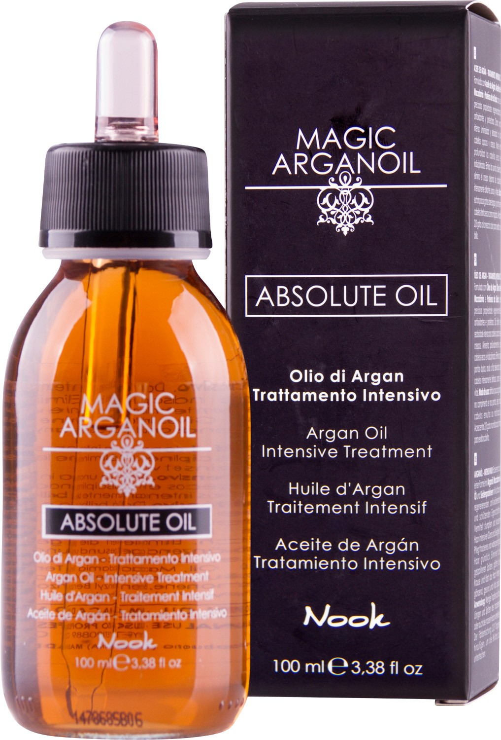 "Nook Magic Arganoil Absolute Oil Эликсир для волос ""Магия Арганы абсолют"" (100 ml) 524-1"