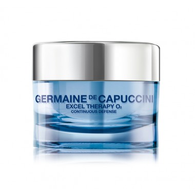 Germaine de Capuccini EXCEL THERAPY O2 Крем восстанавливающий для лица (CONTINUOUS DEFENSE ESSENTIAL YOUTHFULNESS CREAM 50 ml). 81104