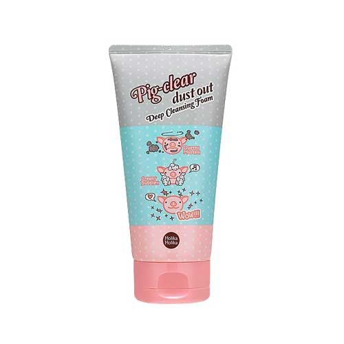 HOLIKA HOLIKA Pig Clear Dust Out Deep Cleansing Foam Глубоко очищающая пенка для лица (150 ml) 20011771