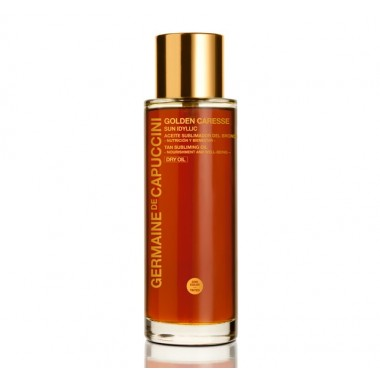 Germaine de Capuccini GOLDEN CARESSE Сухое масло для поддержания загара (SUN IDYLLIC TAN SUBLIMING OIL 100 ml). 81179