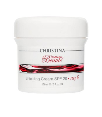 CHRISTINA  Защитный крем SPF 20 - шаг 6 / Shielding Cream SPF 20 CHATEAU de BEAUTE 150мл