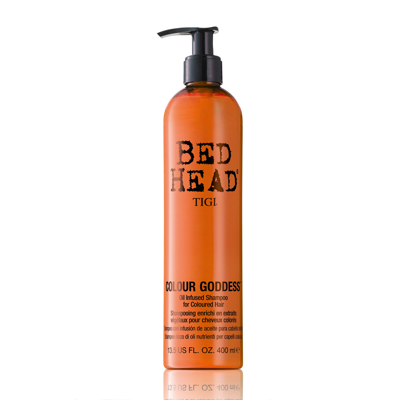 TIGI BED HEAD Colour Goddess Oil Infused Shampoo For Coloured Hair Шампунь для окрашенных волос (400 ml) 67072383