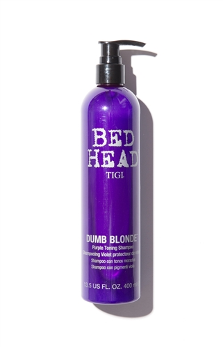TIGI BED HEAD Dumb Blonde Purple Toning Shampoo Шампунь-корректор цвета (400 ml) 67066727