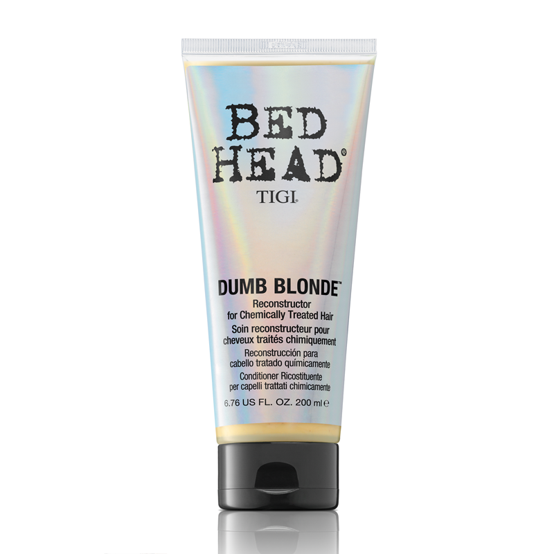 TIGI BED HEAD Dumb Blonde Reconstructor For Chemically Treated Hair Кондиционер-маска для блондинок (200 ml) 21140997