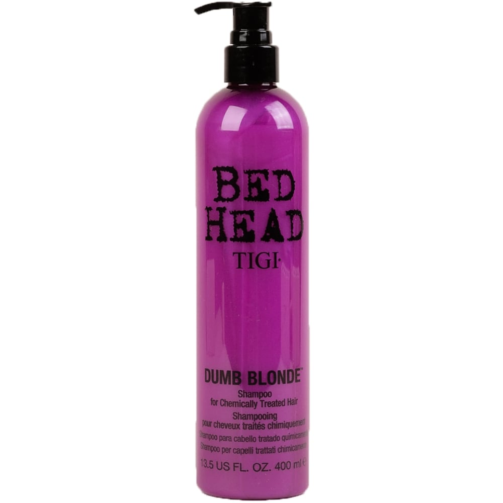 TIGI BED HEAD Dumb Blonde Shampoo For Chemically Treated Hair Шампунь для блондинок (400 ml) 67072441