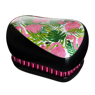 Расческа фламинго / Tangle Teezer Compact Styler Skinny Dip Palm Flami 371401