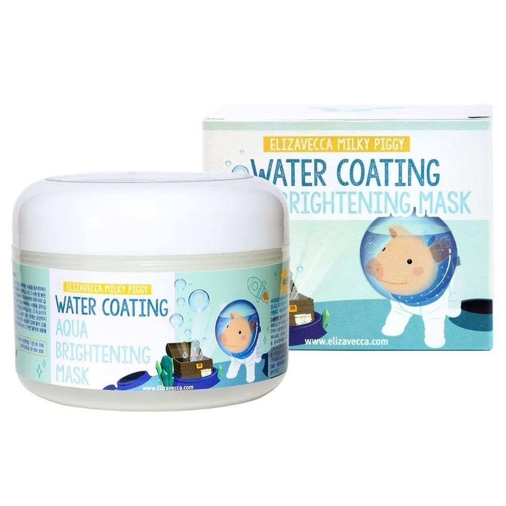 Elizavecca Milky Piggy Water Coating Aqua Brightening Mask Увлажняющая маска (100 ml) 7004*8809339904131