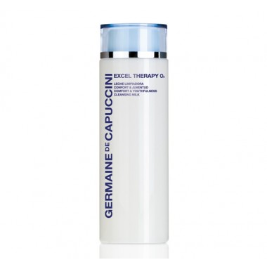 Germaine de Capuccini EXCEL THERAPY O2 Молочко очищающее (COMFORT & YOUTHFULNESS CLEANSING MILK 200 ml). 81107