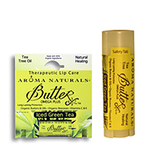 "Aroma Naturals Iced Green Tea Therapeutic Lip Care Бальзам для губ ""Зелёный чай"" (4 g) AR92252 - Natural Healing"
