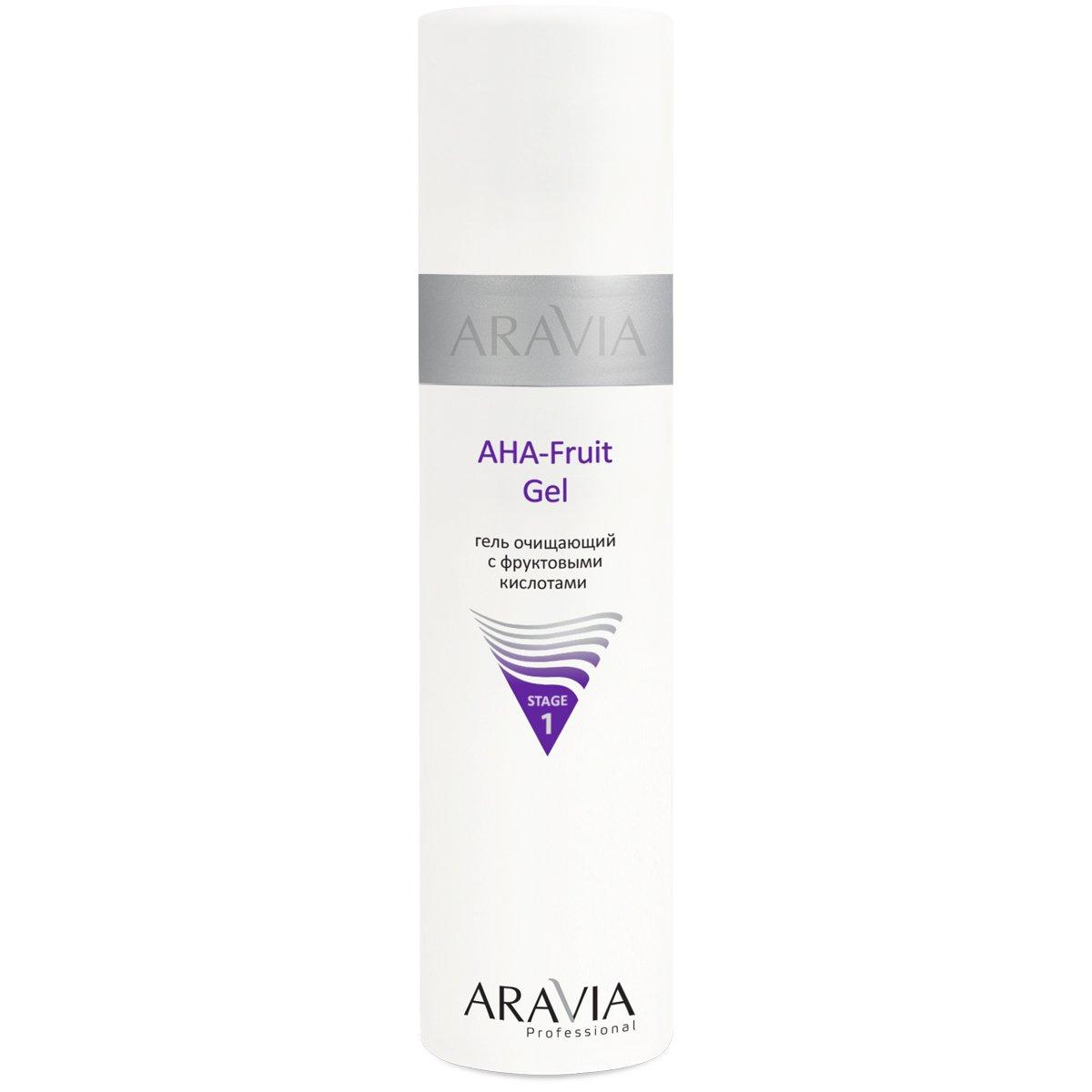 Aravia AHA-Fruit Gel Гель очищающий с фруктовыми кислотами (250 ml) 6200