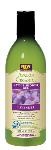 Avalon Organics LAVENDER Bath & Shower Gel Гель для ванны и душа с лавандой (355 ml) AV35180