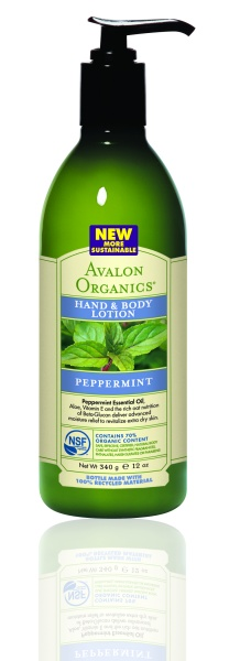 Avalon Organics Hand & Body Lotion PEPPERMINT Лосьон с мятой (340 g) AV35208
