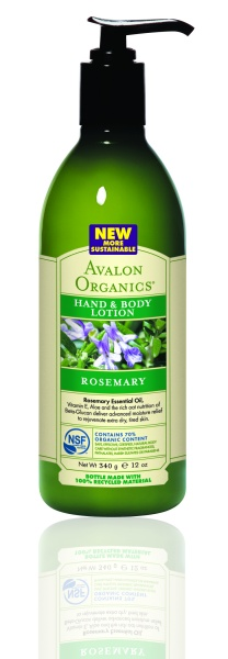 Avalon Organics Hand & Body Lotion ROSEMARY Лосьон с розмарином (340 g) AV35210