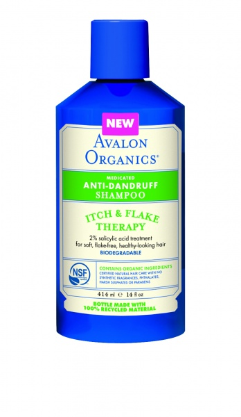 Avalon Organics Itch & Flake Anti-Dandruff Shampoo Шампунь против перхоти (414 ml) AV36106