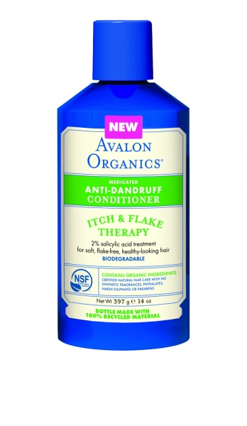 Avalon Organics Itch & Flake Anti-Dandruff Conditioner Кондиционер против перхоти (397 g) AV36107