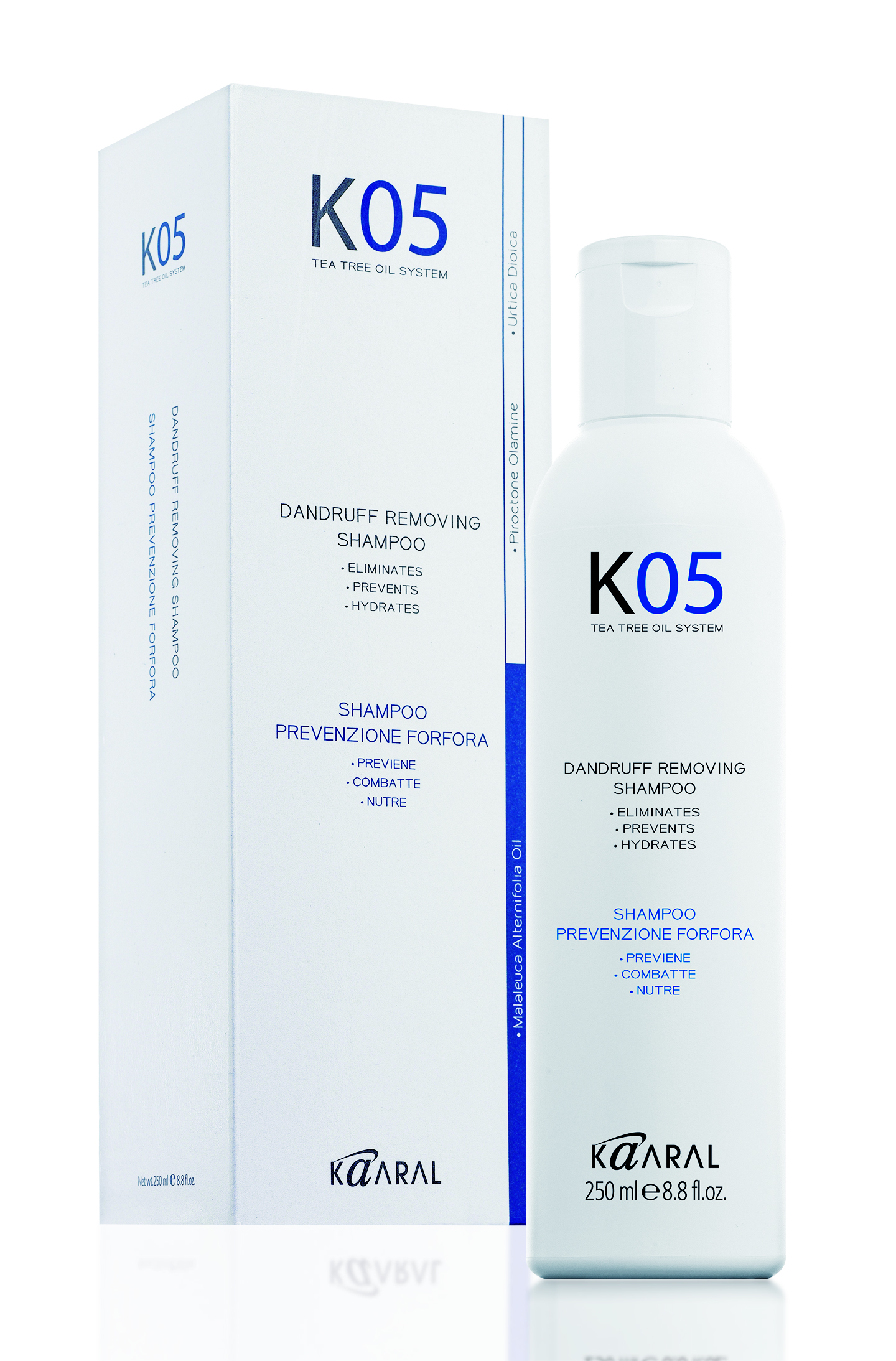 Kaaral K05 Hair Care Dandruff Removing Shampoo Шампунь против перхоти (250 ml) 1053