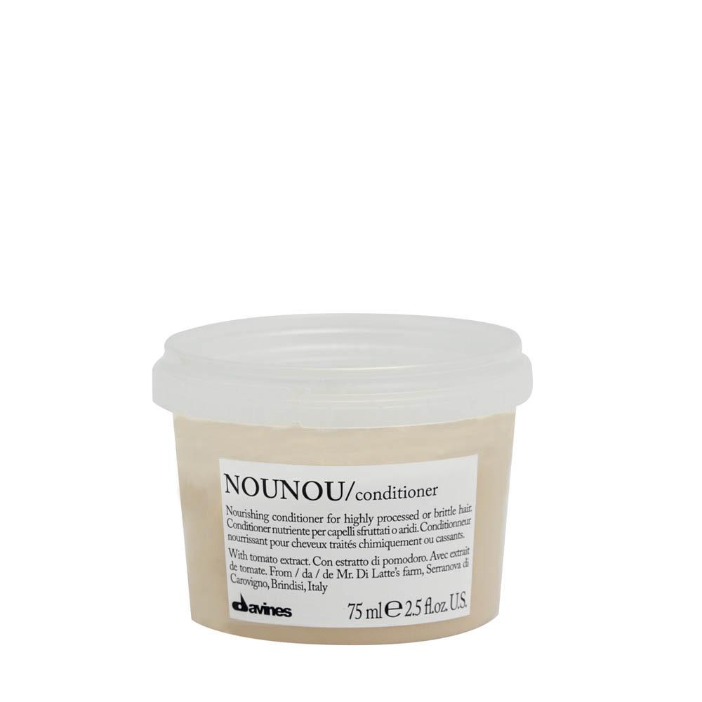 DAVINES NOUNOU/conditioner - Питательный кондиционер, облегчающий расчесывание волос 75 мл