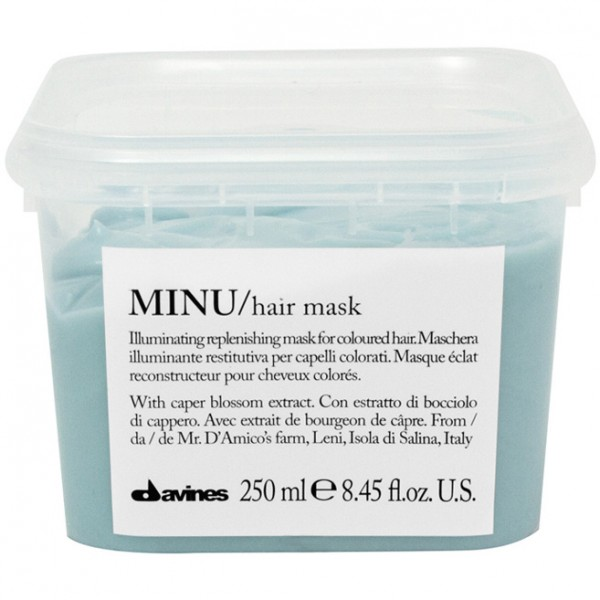 Davines MINU/hair mask Восстанавливающая маска для окрашенных волос (250 ml) 75102