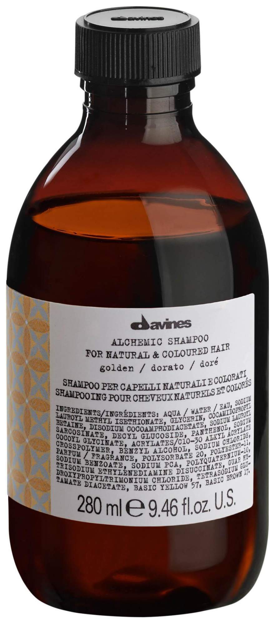 Davines Alchemic Golden Shampoo Золотой шампунь (280 ml) 67207