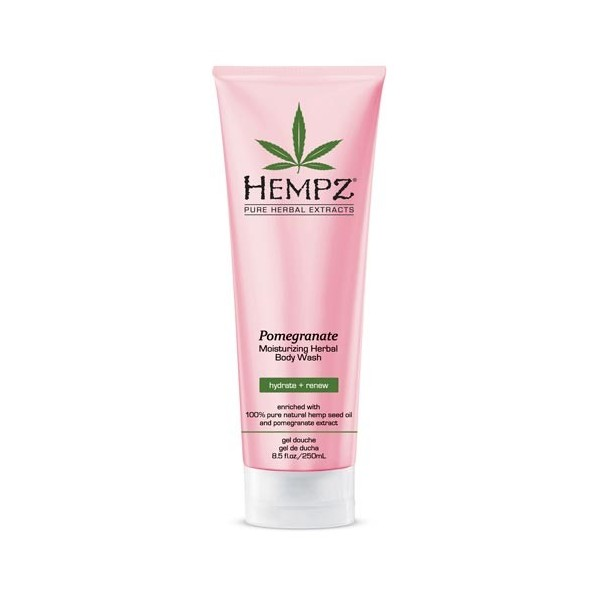 "HEMPZ Гель для душа ""Гранат"" / Body Wash Pomegranate 250мл 676280022119"