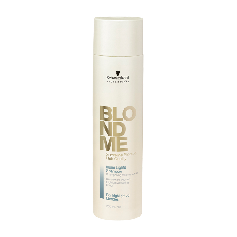 Schwarzkopf Professional BlondMe Illumi Lights Shampoo Шампунь для мелированных волос (250 ml) 1385519