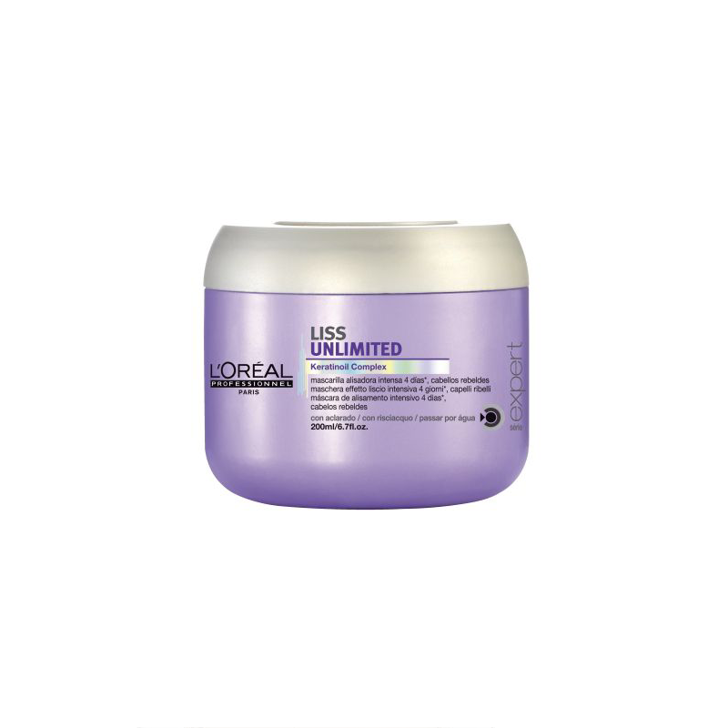 L'Oreal Professionnel Liss Unlimited Smoothing Masque Маска для непослушных волос (200 ml) E0740900
