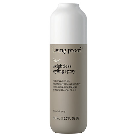 Living proof no frizz weightless styling spray Лёгкий спрей-стайлинг (200 ml)