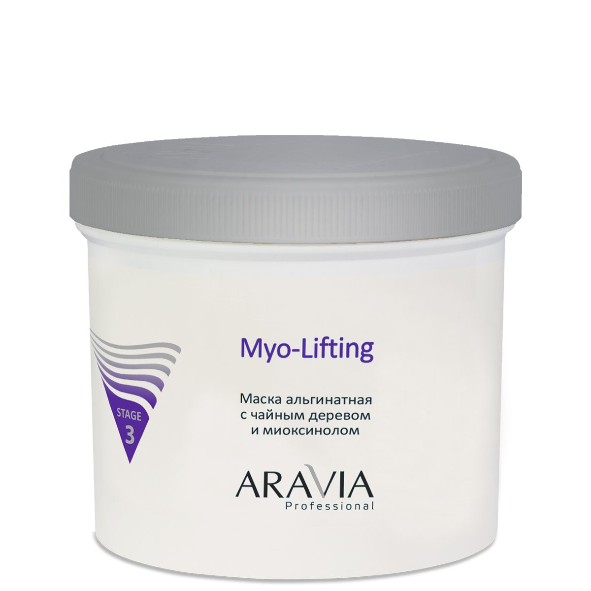 Aravia Myo-Lifting Маска альгинатная с чайным деревом и миоксинолом (550 ml) 6011