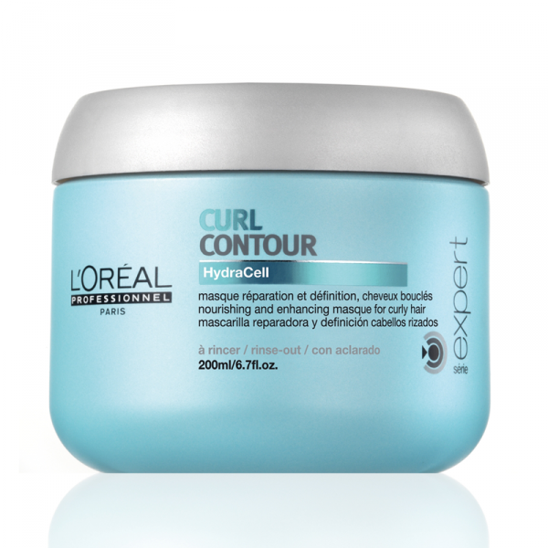 L'Oreal Professionnel Curl Contour Nourishing And Enhancing Masque For Curly Hair Маска питательная для вьющихся волос (200 ml) E0234301