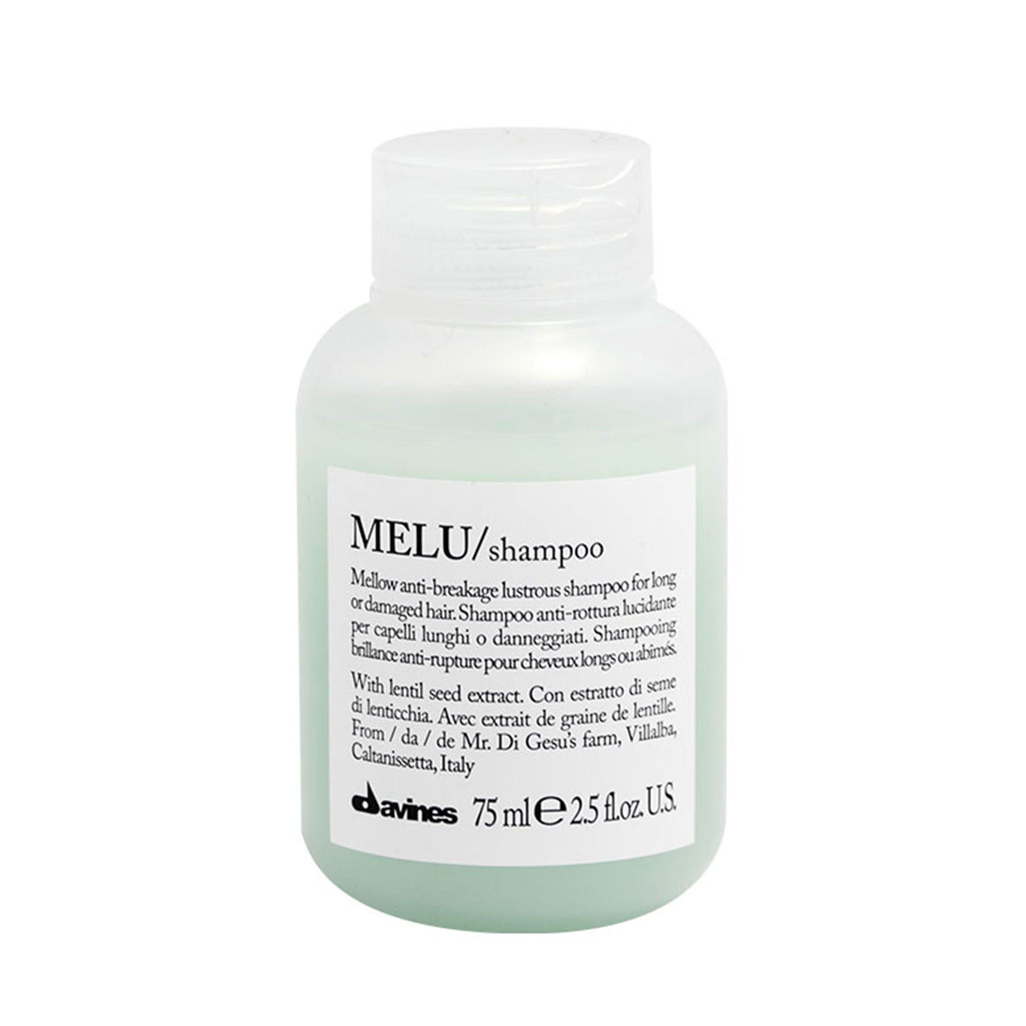 DAVINES MELU/shampoo - Шампунь для предотвращения ломкости волос 75 мл