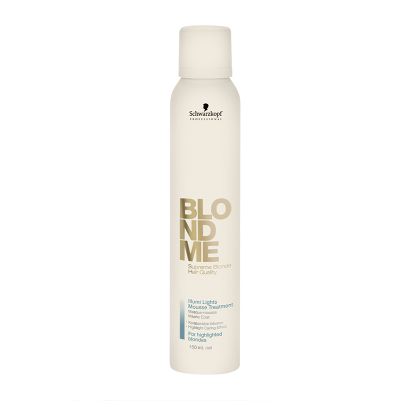 Schwarzkopf Professional BlondMe Illumi Lights Mousse Treatment Мусс-уход для мелированных волос (150 ml)