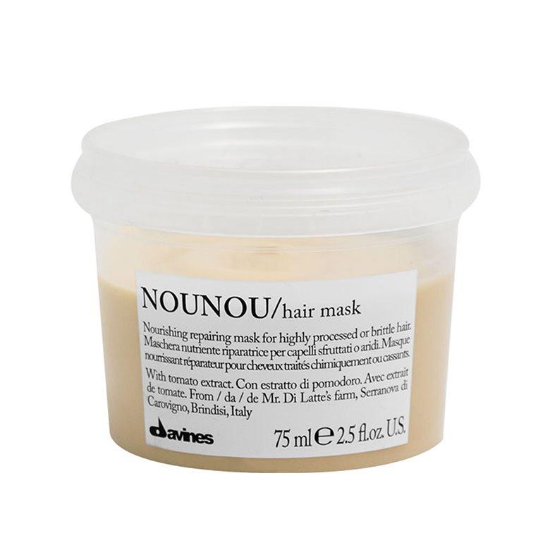 DAVINES NOUNOU/hair mask - Интенсивная восстанавливающая маска для глубокого питания волос 75 мл