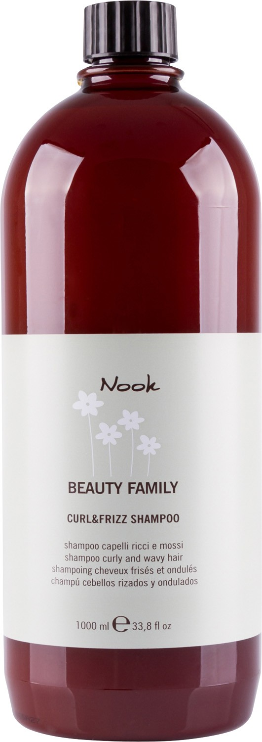 Nook Beauty Family Shampoo Curly And Wavy Hair Шампунь для кудрявых волос pH 5,5 (1000 ml) 242