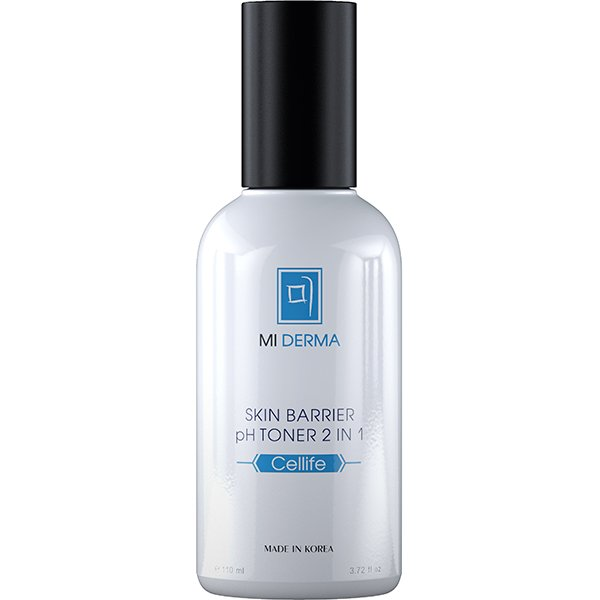 Mi Derma Cellife Skin Barrier pH Toner 2 in 1 Очищающий тоник для лица (110 ml) NL.MD.CL.SBPHT