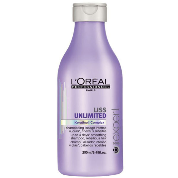 L'Oreal Professionnel Liss Unlimited Smoothing Shampoo Шампунь для непослушных волос (250 ml) E0739300