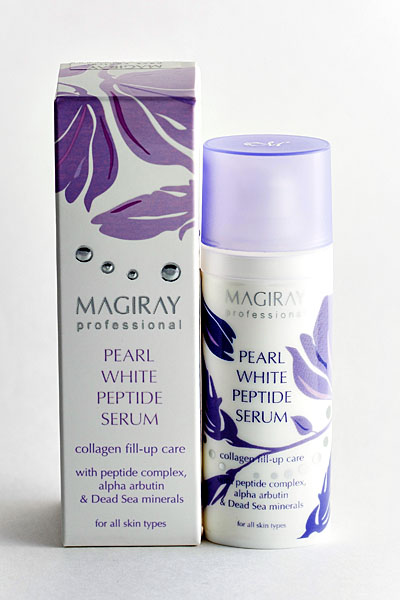 MAGIRAY PEARL WHITE PEPTIDE SERUM Серум жемчужный (30 ml)