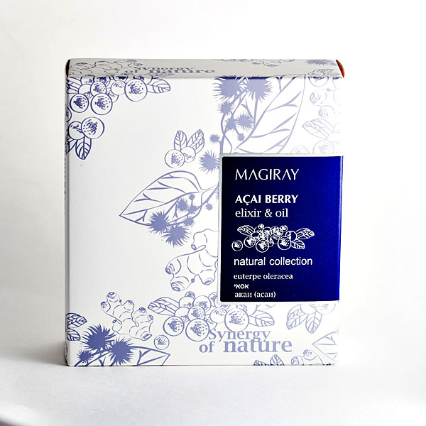 MAGIRAY NATURAL COLLECTION ACAI BERRY ELIXIR & OIL Масло + Эликсир Асаи (50 ml + 60 ml)