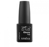 KINETICS Professional Nail Systems Верхнее покрытие с глянцем SHIELD Glossy Top 11 мл KGPTS