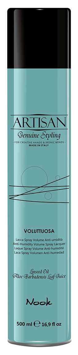 Nook Artisan Genuine Styling Anti-Humidity Volume Spray Lacquer Лак для придания объёма волосам (500 ml) 1313