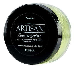 Nook Artisan Genuine Styling Brillina Glossy Shining Wax Воск-блеск для укладки волос (100 ml) 1305